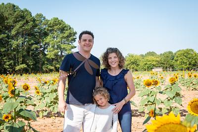Wexler Sunflower Family Portraits