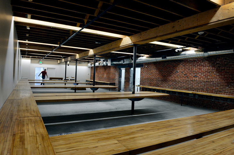 . 12. The Horsebarn reopens in Curtis Park, Aug 1.  The best architectural projects to come along in 2013 were small. Tres Birds Workshop renovated a historic horse barn at 33rd and Arapahoe in Curtis Park into a contemporary multi-tenant office space. Photo By Craig F. Walker/The Denver Post