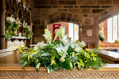 Easter Flowers 2019, Holy Ascension, Upton, Chester.