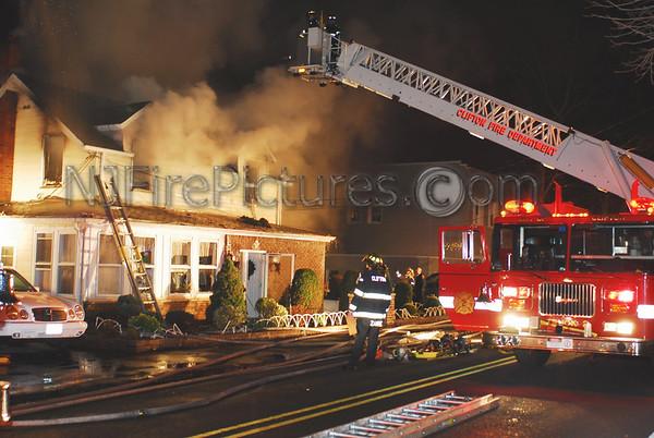 12/29/06 Clifton, NJ 3rd Alarm 357 Mount Prospect Ave.