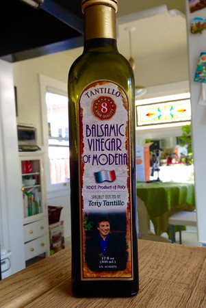 The balsamic vinegar we have at home