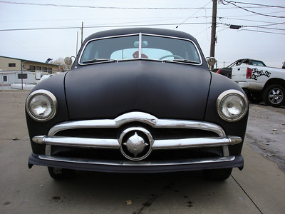 1949 Ford Coupe Flat Black