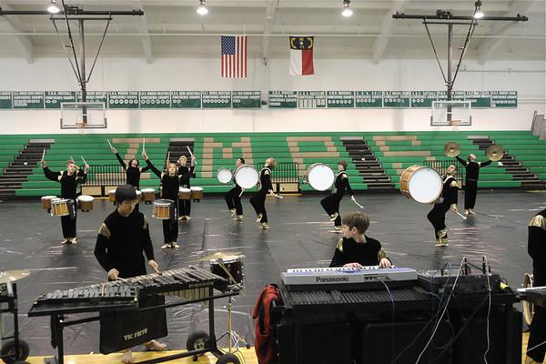 2009-3-26: Winter Drum Line Exhibition