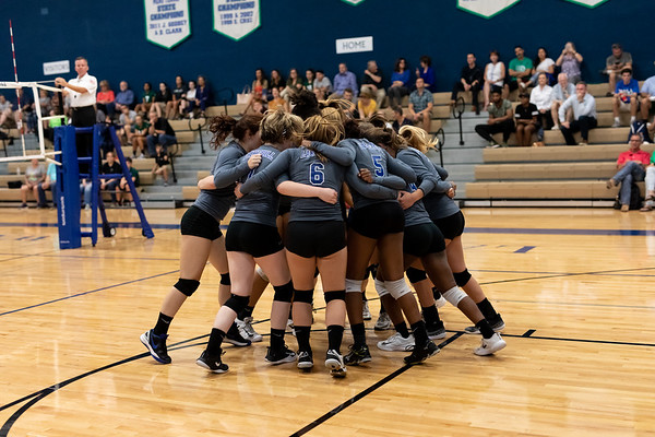 Varsity Volleyball vs Garland Christian 8.21.18