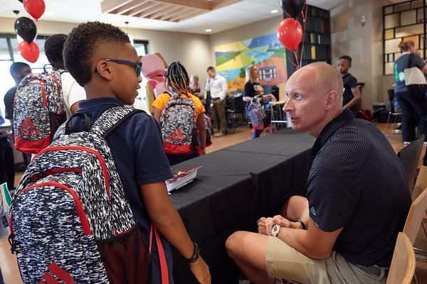 Mack Family Foundation Back to School Program