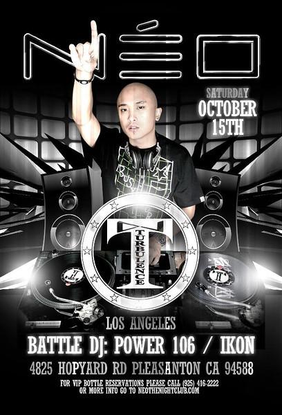 10/15 [DJ Turbulence@Neo]