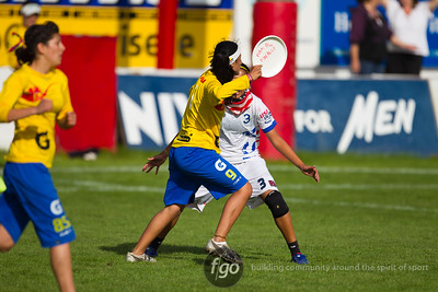 2012 WFDF World Junior Ultimate Championships U20 Women Finals 8-18-12