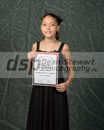 Southern Division Elementary Art & Science Fair Awards Posed Portraits