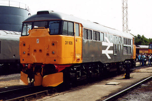 31108 at Old Oak Common TMD on the 5th August 2000