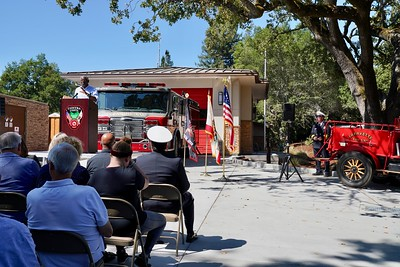 Lafayette Fire Station 16 Push-In Ceremony