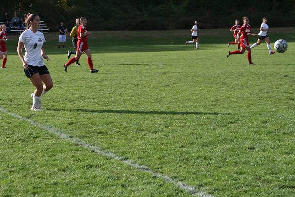 2012 Women's soccer vs Nyack October 17 2012