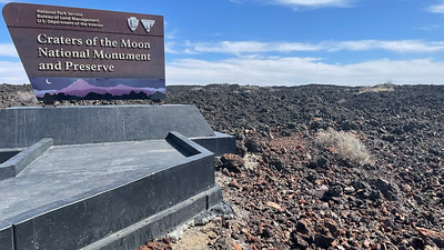 70th Birthday Ski Trip Part 3- Southern Idaho/Craters of the Moon