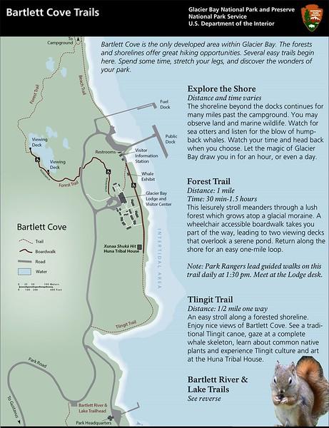 Glacier National Park (Bartlett Cove Trails)