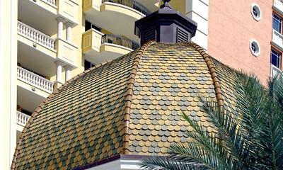 Domes, Cones, Graduated, & Turret Tiles