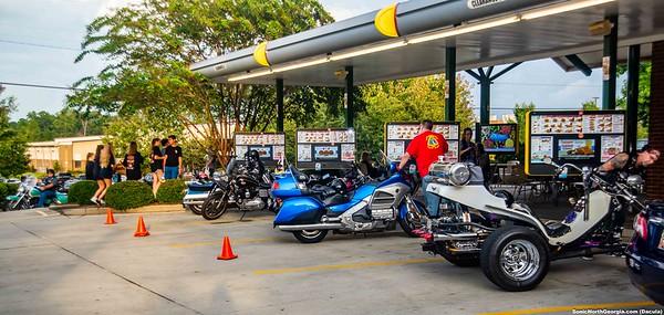 Sonic Bike Night Dacula GA Sept 2018