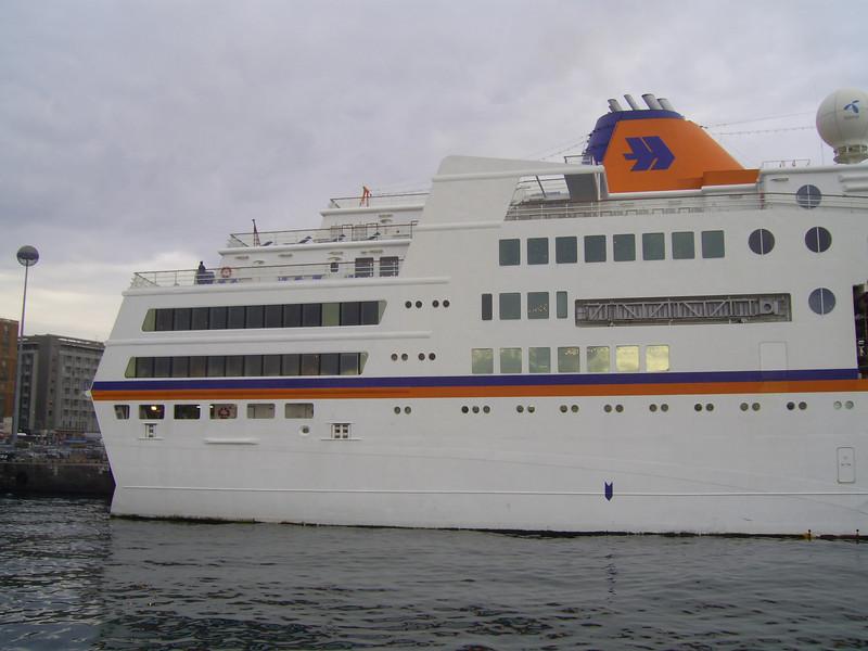 2008 - M/S C.COLUMBUS in Napoli.