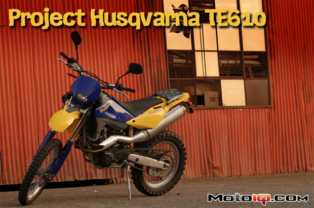 Project Husqvarna TE610 Part 3: Nut and Bolt Check