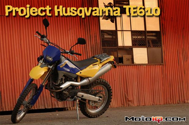 Project Husqvarna TE610 Part 2: Dual Sport Adventure Bike Fundamental Fixes