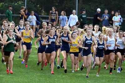 Open Girls Start of Race