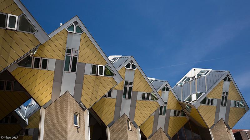 Kubuswoningen Rotterdam.