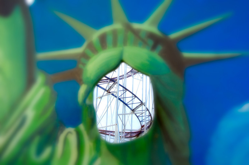 Keansburg Amusements - Statue of Liberty