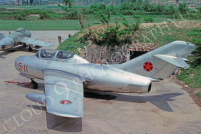 Albanian Air Force Mikoyan-Guryevich MiG-15UTI Fagot Airplane Pictures for Sale