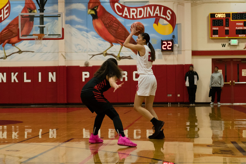 Lady Cardinals vs Lady Totems 12-4-19.....by Barney