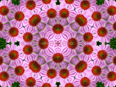 DIGITAL-CREATIVE-GOLD-FLOWER BED-GAYLE FISCHER
