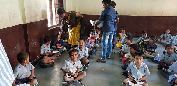 Sweet Distribution govt school