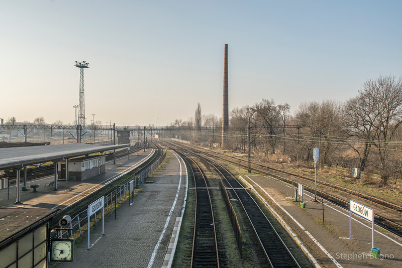 Glogow Station Poland