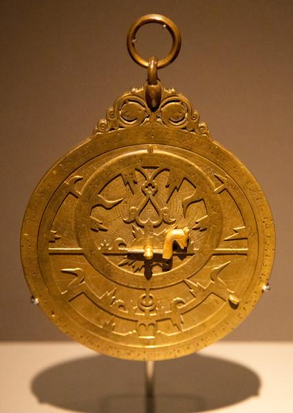 Planispheric astrolabe, 985 AD