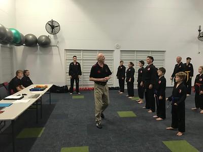 Combat Self Defence Grade Belt Assessments Noosa March 2019
