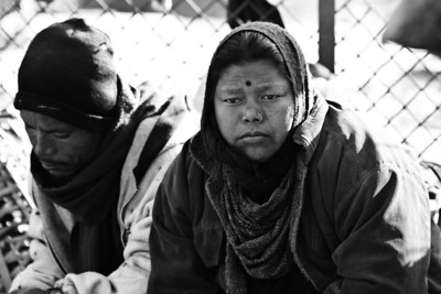 Nepal in Black and White