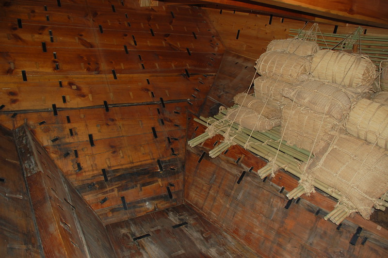 The Namiwa Maru, a reconstructed Higaki-kaisen