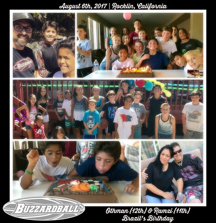 AUGUST 6TH, 2017 | Othman and Ramzi Brazil 12th and 11th Birthday
