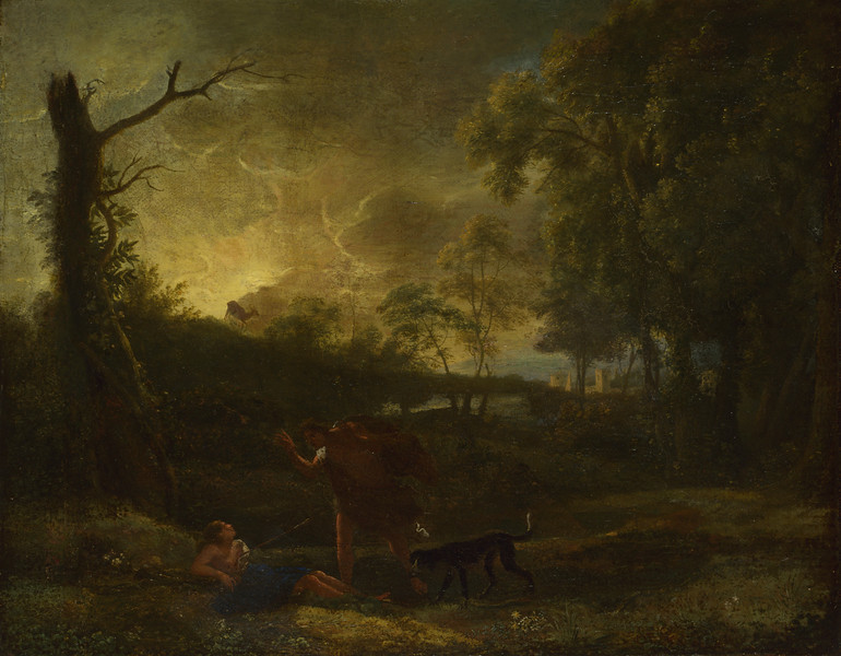 Landscape with the Death of Procris