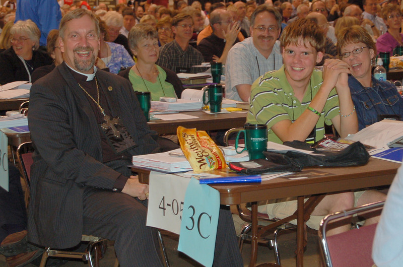 Voting members from the South Dakota Synod during plenary session nine.