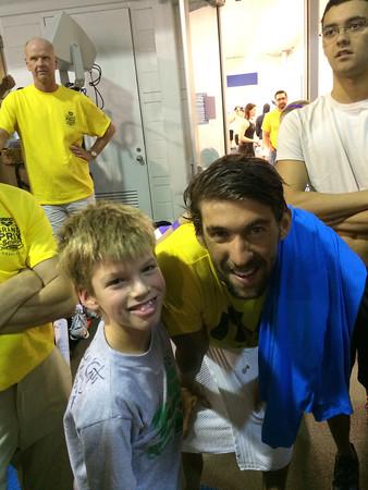 Guy meets Phelps