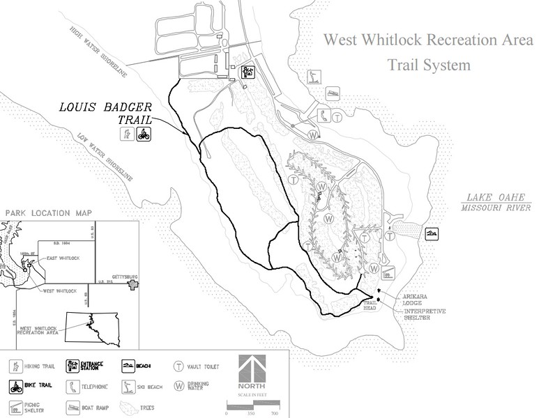 West Whitlock Recreation Area (Trail Map)