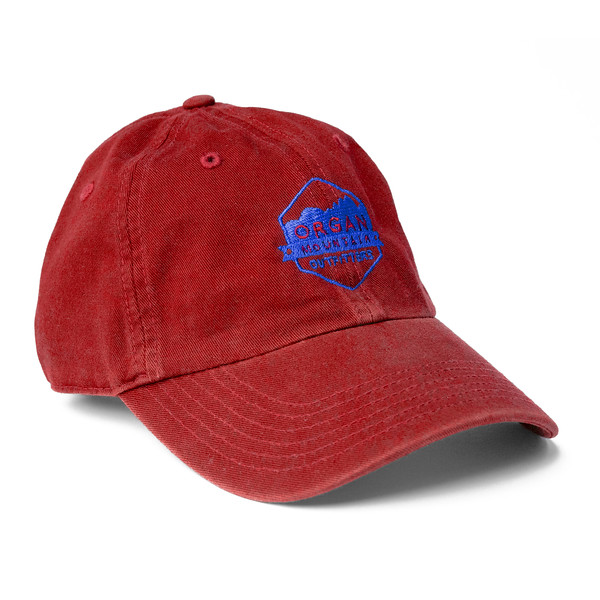 Outdoor Apparel - Organ Mountain Outfitters - Hat - Dad Cap Classic Logo - Red.jpg