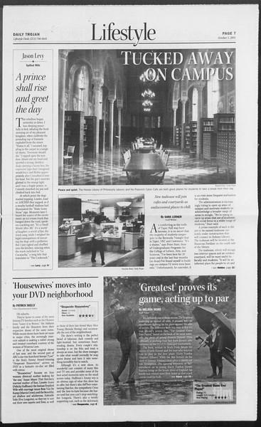 Daily Trojan, Vol. 156, No. 31, October 05, 2005