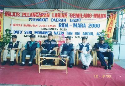 2000 - MAJLIS PELANCARAN LARIAN GEMILANG MARA