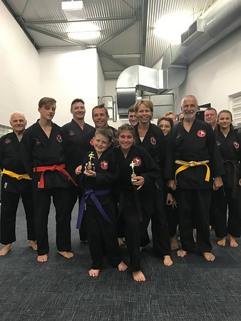 Combat Self Defence Students of Term 3 2018