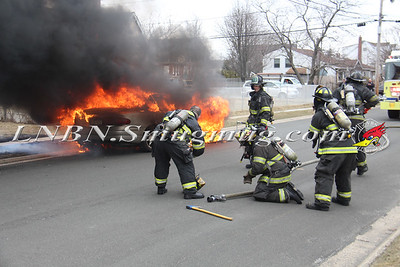 Copiague F.D. Vehicle Fire IFO 114 East Clearwater Rd. 3-20-15