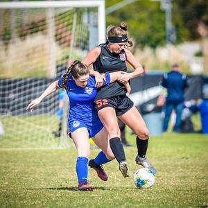 191201 - 0201 Girls U19 - Heat FC ECNL II @ San Juan Composite