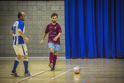 Glacis 1-2 St Joseph, Futsal Final Four Play-offs, leg one - Tercentenary Sports Hall, Gibraltar – 30th April 2016