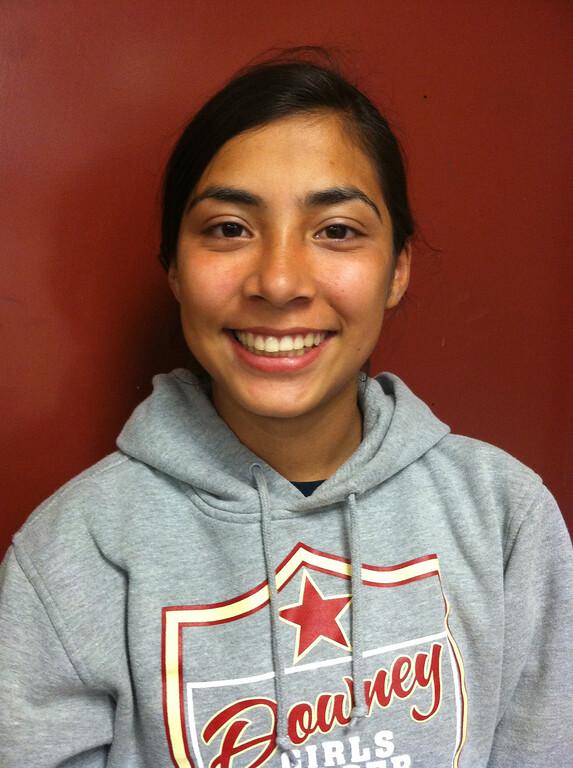 . Janeth Acuna of Downey girls soccer