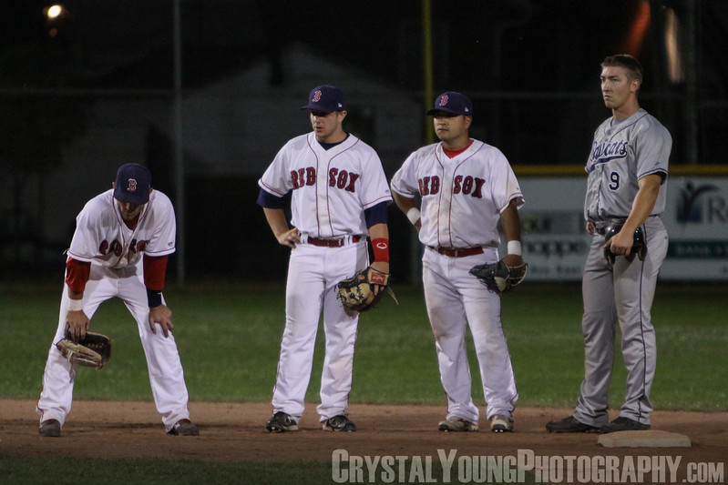 Barrie Baycats at Brantford Red Sox July 13, 2011