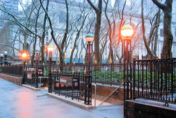 New York March 2008