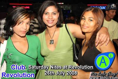 Club Revolution - 26th July 2008